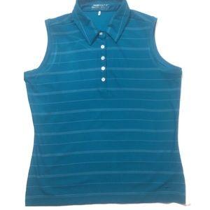 Nike Golf Fit Dry Sleeveless Polo Size Medium